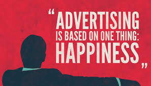 happiness advert