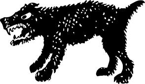 perro sacred or angry