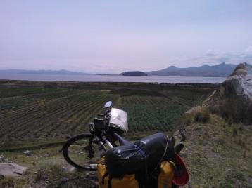 Lake Titcaca (world's highest navigable lake at 3,812m)