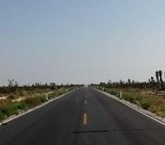 long flat roads
