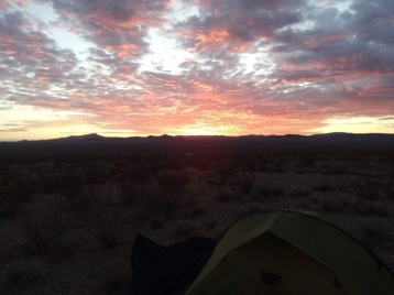 #9 Arizonian desert morning sky