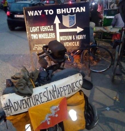 way to bhutan